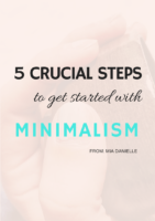 Benefits of minimalism 8 benefits of living with less for Benefits of minimalism